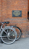 Fahrradparken Lizenzfreies Stockfoto
