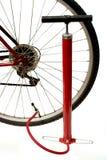 Fahrradpflege stockfoto
