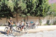 Fahrradreisen Lizenzfreie Stockfotos