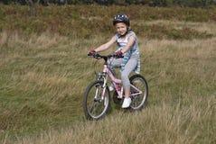 Fahrradreiten Lizenzfreies Stockbild