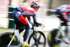 Fahrradrennen Stockbilder