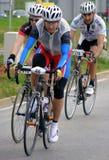 Fahrradrennen Stockfoto