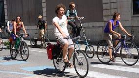 Fahrradrevolution Velorution, Grenoble, Frankreich