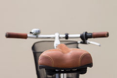 Fahrradsattel stockfotos