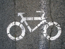 Fahrradsignal Stockfotos