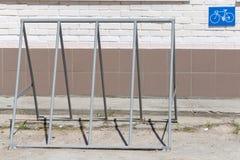 Fahrradspeicher Stockbild