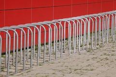 Fahrradstï ¿ ½ nder aus Metall 库存图片