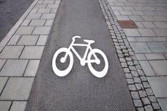 Fahrradsymbol Lizenzfreie Stockbilder