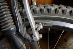 Fahrradteile Stockbild