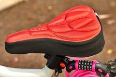 Fahrradteile Sitz, Radrahmen lizenzfreie stockbilder