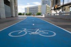 Fahrradwegzeichen lizenzfreie stockbilder