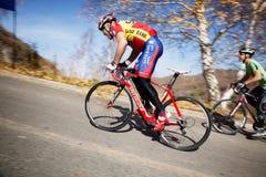 Fahrradwettbewerb lizenzfreie stockfotografie