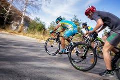 Fahrradwettbewerb stockfotografie