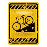 Fahrradzeichen vektor abbildung