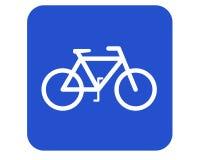 Fahrradzeichen lizenzfreie stockbilder