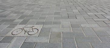 Fahrradzeichen Stockfotos