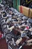 Fahrräder für Verkauf Stockfoto
