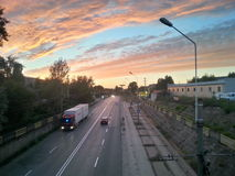 fahrstraße Stockfoto
