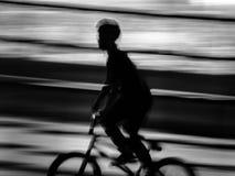 Fahrt in der Bewegungsunschärfe Lizenzfreie Stockbilder