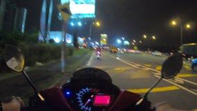 Fahrt in der Geschwindigkeit stock footage