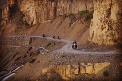 Fahrt in Himalaja lizenzfreies stockbild