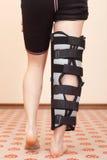 Fahrwerkbeinverletzung Stockbild