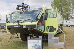 Fahrzeug 6x6 Schlaggeräts 3000 des OshkoshCorp Stockfotos