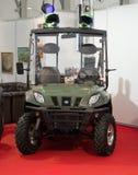 Fahrzeug der Landschaft 4x4 Stockfoto