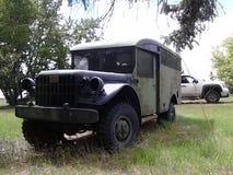 Fahrzeug des Gefangenen WW2 lizenzfreies stockfoto