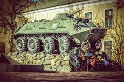 Fahrzeug des gepanzerten Kampfes Stockfoto