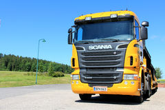 Fahrzeug-Fördermaschinen-LKW Scanias R500 Lizenzfreies Stockbild