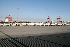 Fahrzeug-Import - Fremantle - Australien Lizenzfreies Stockfoto