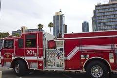 Fahrzeug Sans Diego Fire Rescue Stockbilder