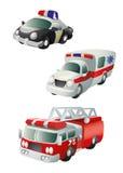Fahrzeuge des speziellen Zweckes Stockfoto