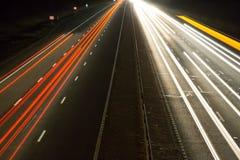 Fahrzeuge nachts 2 Lizenzfreies Stockfoto