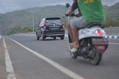 Fahrzeugfotos mit tireur der schnellen Geschwindigkeit lizenzfreie stockfotos