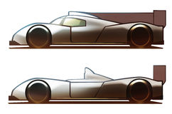 Fahrzeugkarosserie-Le Mans-Auto Lizenzfreie Stockfotografie