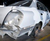Fahrzeugkarosseriereparatur Lizenzfreies Stockfoto