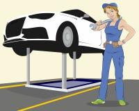 Fahrzeugwartung Lizenzfreies Stockfoto