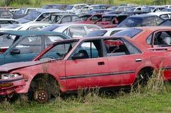 Fahrzeugwiederverwertung Stockfotografie