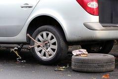 Fahrzeugzusammenbruch Stockfoto