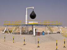 Fahud Two Oil Well - Oman royalty free stock photography