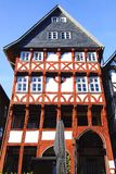 Fahverk house in the Fritzlar. Stock Photos