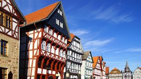 Fahverk house in the Fritzlar. Royalty Free Stock Photo