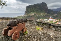 Free Faial Cannon View Madeira Royalty Free Stock Photography - 143257977