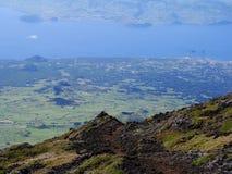Faial_island_Azores Arkivfoton