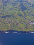 Faial island view Stock Images