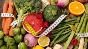Faible en calories, nourriture biologique images libres de droits