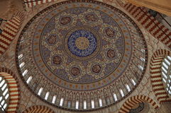 Faience in der Moschee Stockfoto