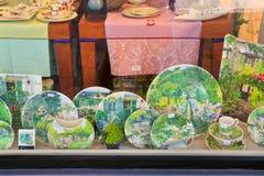 faience gien tableware традиционный стоковое фото rf